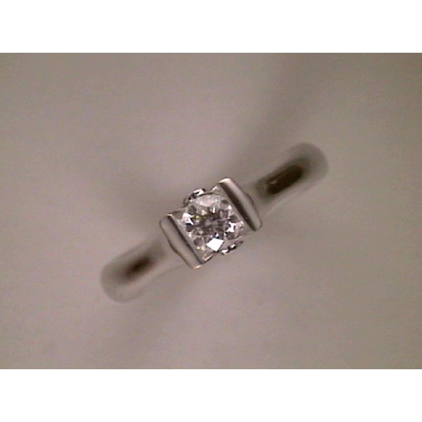 ANILLO ORO BLANCO I DIAMANTE