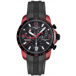 CERTINA PODIUM GMT swiss made, caucho negro